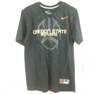 Nike Team Graphic T Shirt Oregon State Beavers Med